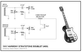 harmony h44 h88 stratotone wiring