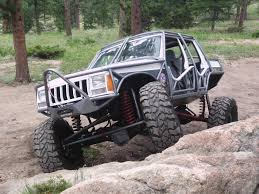 wrecked jeep liberty jeep of the week archives national off road jeep association