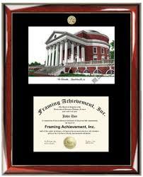 uva diploma frame buy of virginia uva lithograph matted diploma frame