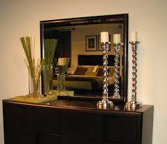 Magnussen Nova  Drawer Dresser With Mirror  Reviews Wayfair - Magnussen nova platform bedroom set