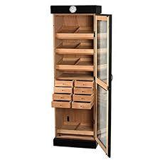 amazon com upright humidor cabinet 3000 cigars kitchen u0026 dining