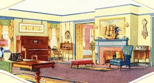 1940 homes interior foursquare houses sears modern homes