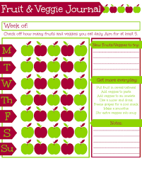 healthy eating for kids free printable fruit and vegetable