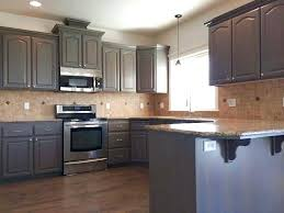 can you stain kitchen cabinets paint or stain wood kitchen cabinets popular colors for best