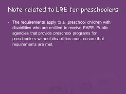 inclusive placement opportunities for preschoolers a systems