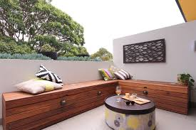 Modern Bench With Storage Creative Of Large Outdoor Storage Bench Modern Storage Bench Deck