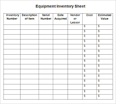liquor inventory template blank inventory checklist template in