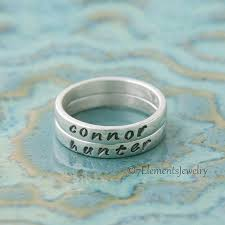 personalized rings for mothers s ring personalized ring s by 7elementsstudio