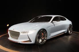 lexus sedan concept hyundai unveils genesis hybrid sport sedan concept autoguide com