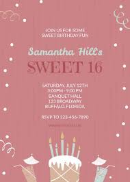 online birthday invitation maker make your own birthday