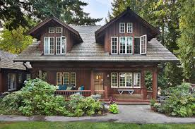 refreshing update to an historic log home in the seattle suburbs