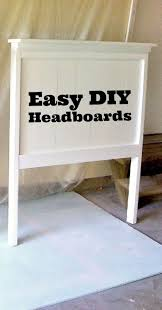 easy diy headboard 79 superb diy headboard ideas for your chic bedroom super easy