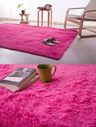 Light Pink Area Rugs Pink Shag Rug Wizbabies Club Regarding Prepare 12