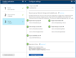 replicate applications azure to azure microsoft docs