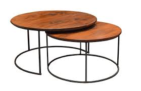 round nesting coffee table round nesting coffee 2 day designs