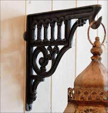 furniture amazing decorative metal wall brackets decorative