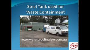 waterproof concrete u0026 steel tanks youtube
