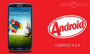 android version 4 4 4 official android 4 4 4 kitkat ported to the galaxy s3 gt i9300