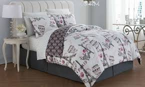 Bed In A Bag Set Geneva Home Darcy Paris Themed Bed In A Bag Set Blush Size