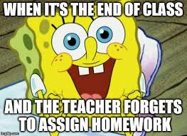 Spongebob Homework Meme - spongebob hopeful imgflip
