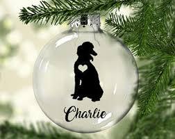 poodle ornament etsy