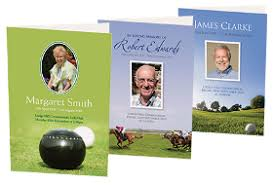 funeral stationery fitting farewell ltd bespoke funeral stationery printer