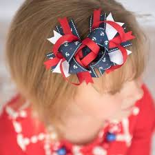 fourth of july hair bows best nautical hair bows products on wanelo