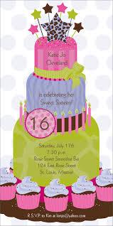 Birthday Card Invitation Templates 16th Birthday Invitations Templates Ideas 16 Birthday