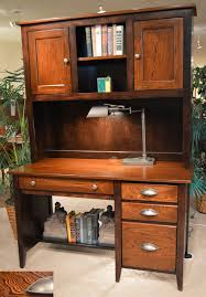 Maple Desk With Hutch Amish Elm Maple Desk With Hutch Jasen S Furniture Since 1951