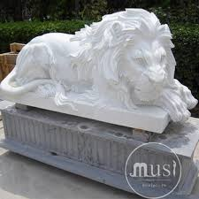 marble lions custom made marble statue big lions statues buy big