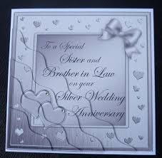 and in silver wedding anniversary