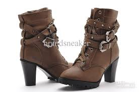 buy womens boots cheap fashion studded boots lace up boots womens winter ankle