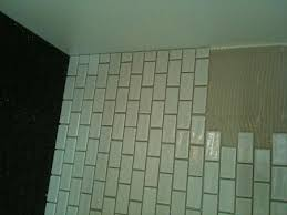Glass Tile Installation Ceramictec Recycled Glass Tile Backsplash Installation Ta