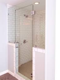 bathroom endearing white subway tile shower bphfxuphs