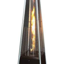 patio heater propane gardensun gold hammered bronze 40 000 btu pyramid flame propane