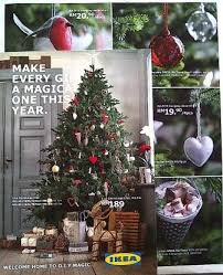 ikea s catalogue is out real trees and ornaments