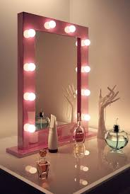pink hollywood make up theatre dressing room mirror k153 amazon