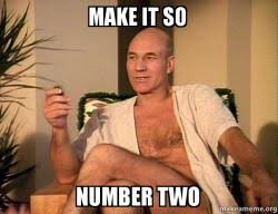 How To Make A Meme With Two Pictures - make it so number two sexual picard make a meme