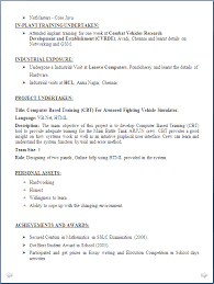 Computer Science Student Resume Sample by Resume For Freshers Bsc Computer Science 100 Resume Format For