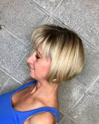 pictures of graduated long bobs 42 bob with bangs hairstyle ideas trending for 2018