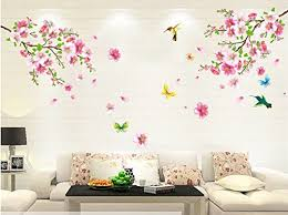 Cherry Blossom Tree Wall Decal For Nursery Wall Designs Floral Wall Flower Wall Decal Cherry Blossom