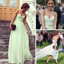 aliexpress com buy sage chiffon long prom dresses sweetheart