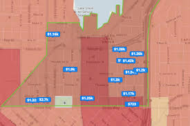Trulia Map Heatmap Heating Up A Look At Rising Rent Prices In Seattle