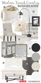 Mood Board A Modern French Country Master Bedroom My One Room