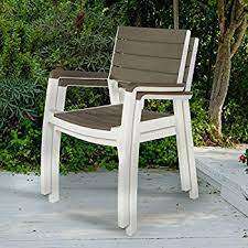 Patio Stack Chairs Keter Harmony Indoor Outdoor Stackable Patio