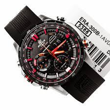 Jam Tangan Casio Karet jual jam tangan casio edifice era 300b jam casio jam tangan