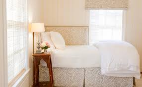 Bedroom Bed In Corner Greensboro Interior Design Window Treatments Greensboro Custom