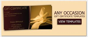 gift voucher samples custom gift certificate templates corol lyfeline co