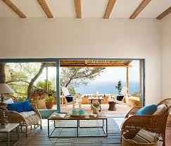 Mediterranean Decor Living Room by Simple Mediterranean Style Island Living On Tranquil Formentera