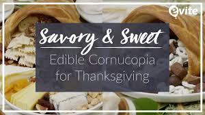 savory sweet edible cornucopia for thanksgiving 2017
